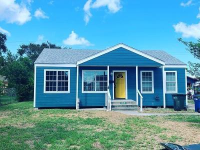 Corpus Christi TX Single Family Home For Sale: $119,900