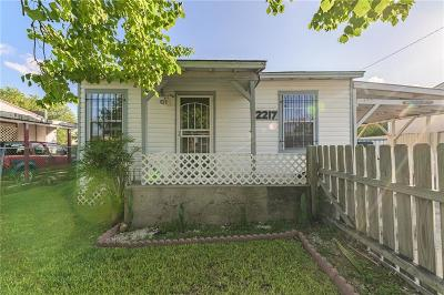 Corpus Christi Single Family Home For Sale: 2217 Guadalupe St