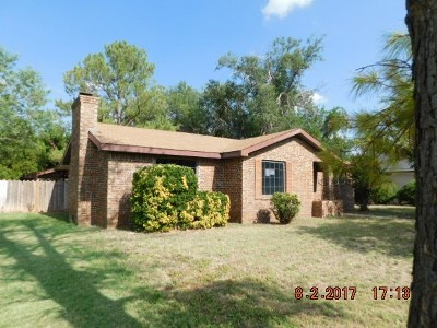 Seminole TX Single Family Home For Sale: $112,000
