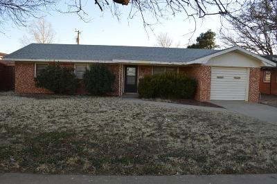 Seminole TX Single Family Home For Sale: $99,900