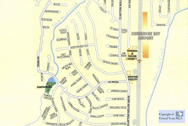 0 (Lot 1061) Hob Nail, Horseshoe Bay, TX | MLS# 201406 | Belton TX
