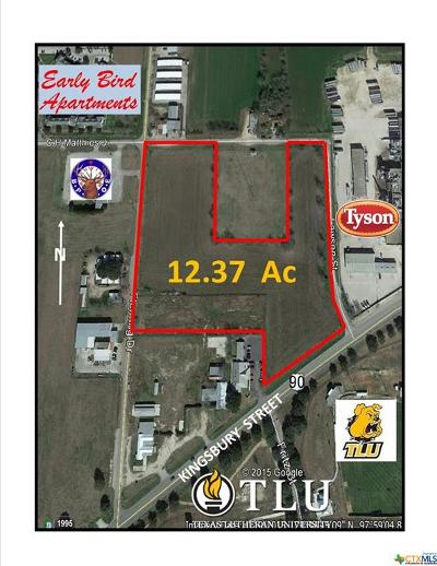 Seguin Residential Lots & Land For Sale: Kingsbury Street