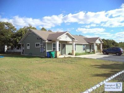 Seguin Multi Family Home For Sale: 1227-1229 Jefferson Avenue