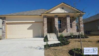 Killeen TX Single Family Home Sold: $127,000