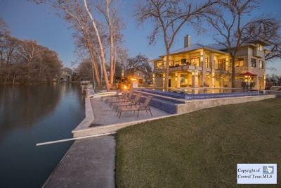 McQueeney Single Family Home For Sale: 164 Cypress Way