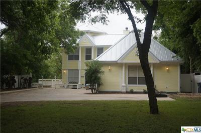 Comal County Single Family Home Pending Take Backups: 832 Albert Street