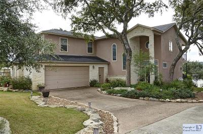 Comal County Single Family Home For Sale: 1024 Lake Breeze Drive