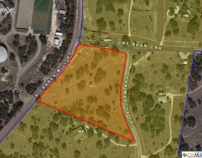New Braunfels Residential Lots & Land For Sale: 130 San Marcos Trail