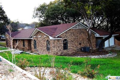 Harker Heights Single Family Home For Sale: 900 Cliffside