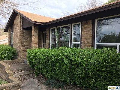 Harker Heights Single Family Home For Sale: 903 Cliffside Drive