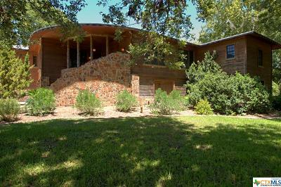 Guadalupe County Single Family Home For Sale: 214 Guadalupe River Drive
