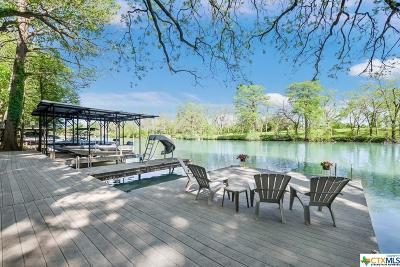 McQueeney Single Family Home For Sale: 238 River Haven Road