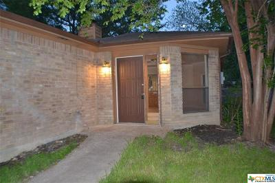 Temple Single Family Home For Sale: 4020 River Oaks