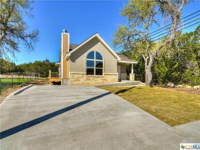 Canyon Lake Single Family Home For Sale: 1127 Eastview