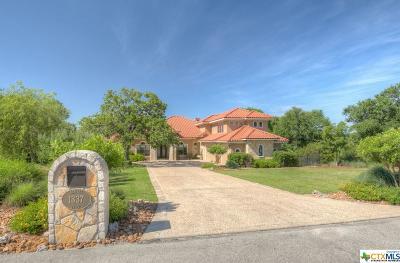 Comal County Single Family Home For Sale: 1337 Palmetto