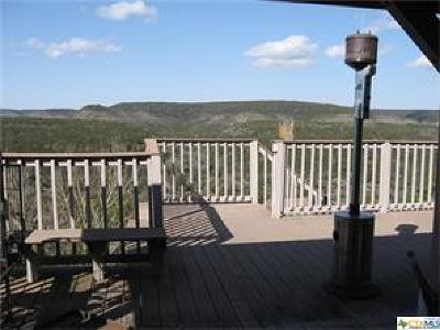 Bosque County, Bell County, Burnet County, Calhoun County, Coryell County, Lampasas County, Limestone County, Llano County, McLennan County, Mills County, Milam County, San Saba County, Williamson County, Hamilton County, Travis County, Comal County, Comanche County, Kendall County Single Family Home For Sale: 1950 Estrellita Ranch