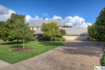 Comal County Single Family Home For Sale: 649 Riverside Drive
