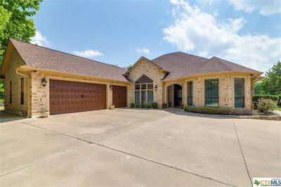 Salado Single Family Home For Sale: 2907 Chisholm Trail