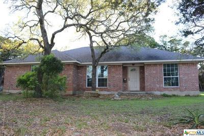 Canyon Lake Single Family Home For Sale: 532 Saint Thomas Drive
