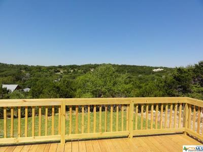 Canyon Lake Single Family Home For Sale: 1300 Rotherman