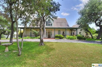 San Marcos Single Family Home For Sale: 701 Blanco River Ranch