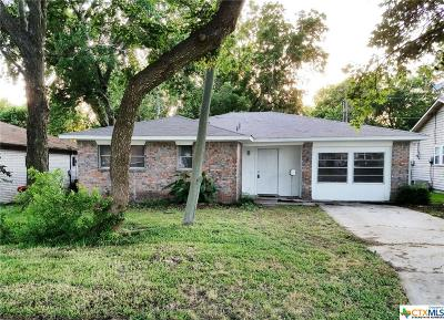 Temple TX Single Family Home For Sale: $95,000