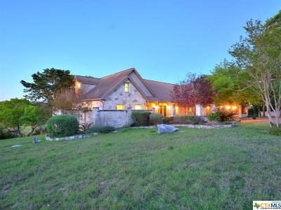 Hays County Single Family Home For Sale: 815 Woodcreek Ranch