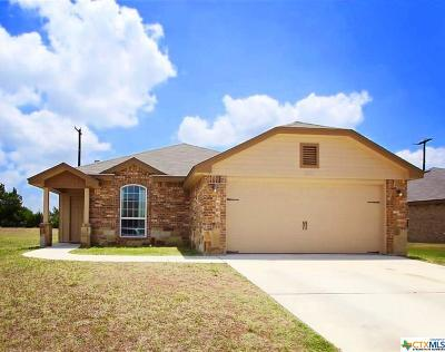 Killeen Single Family Home For Sale: 6506 Castle Gap