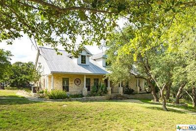 Wimberley Single Family Home For Sale: 801 Rainbows End
