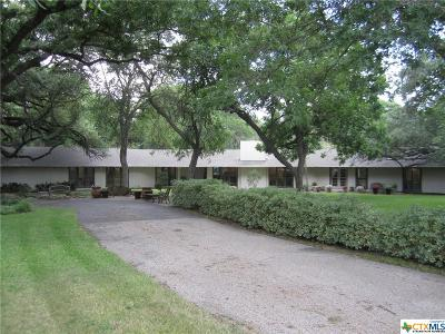 Temple Single Family Home For Sale: 3600 Chisholm Trail
