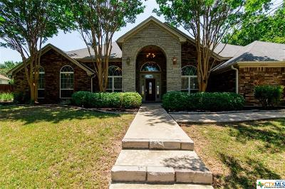 Harker Heights Single Family Home For Sale: 2023 Kangaroo Trail