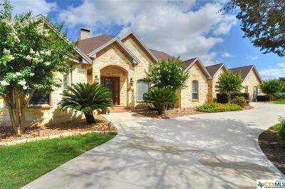 New Braunfels TX Single Family Home For Sale: $899,000