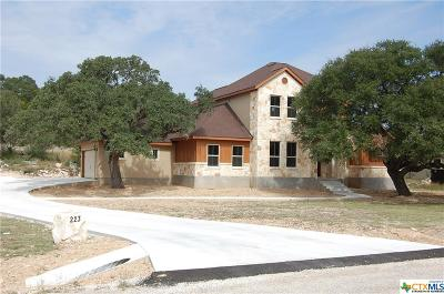 New Braunfels Single Family Home For Sale: 223 Longwood Drive