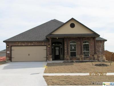Killeen Single Family Home For Sale: 5201 Siltstone Loop