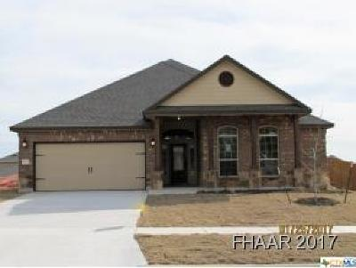 Killeen Single Family Home For Sale: 5201 Siltstone
