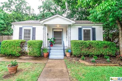 Belton Single Family Home For Sale: 137 13th Avenue