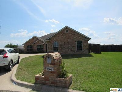 Belton Single Family Home For Sale: 2601 Armstrong