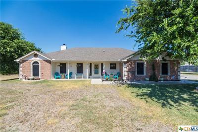 Copperas Cove Single Family Home For Sale: 3118 Osbourne Trail