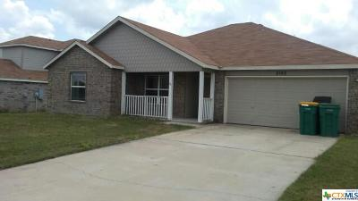 Belton TX Single Family Home For Sale: $125,000