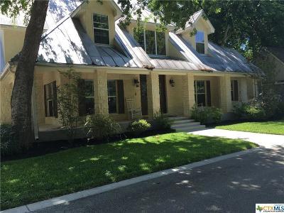 New Braunfels Single Family Home For Sale: 519 Vista Del Rio