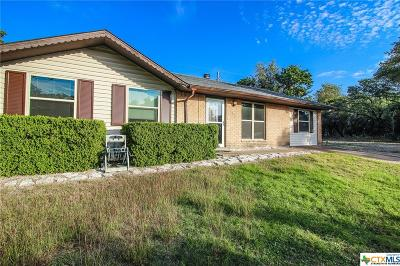 Belton TX Single Family Home For Sale: $124,500