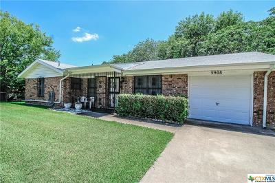 Killeen Single Family Home For Sale: 3908 Peaks