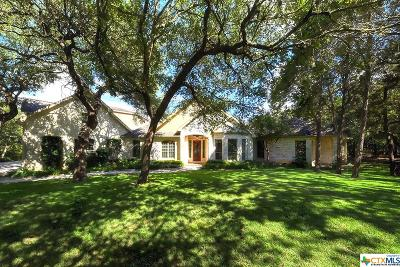 New Braunfels Single Family Home For Sale: 529 Hunters Creek