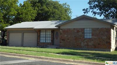 Copperas Cove Single Family Home For Sale: 2602 Mountain Avenue