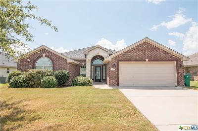 Belton Single Family Home For Sale: 3111 Sarita Cove