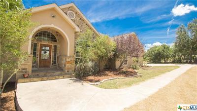 New Braunfels Single Family Home For Sale: 126 Oak Pointe