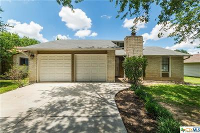 Round Rock Single Family Home Pending Take Backups: 900 Fairway Green Cove