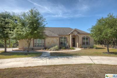 Canyon Lake Single Family Home For Sale: 408 Cielo Vista
