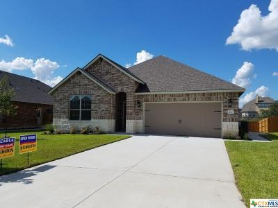 Harker Heights Single Family Home For Sale: 817 Valentino Drive