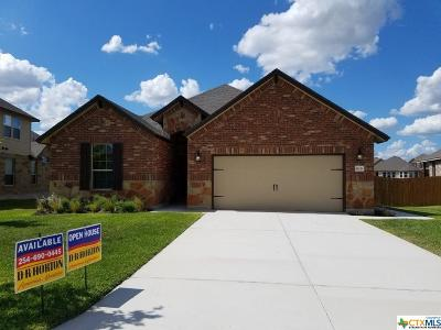 Harker Heights Single Family Home For Sale: 815 Valentino Drive